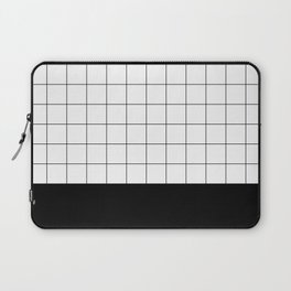 Scandi Grid Sq B Laptop Sleeve