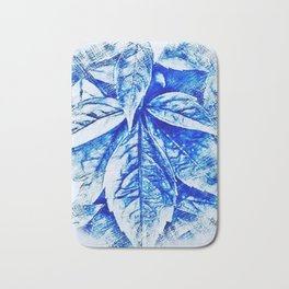 Marajuana Pot Leaves Bath Mat