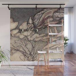"""Jack Frost"" by Arthur Rackham Wall Mural"
