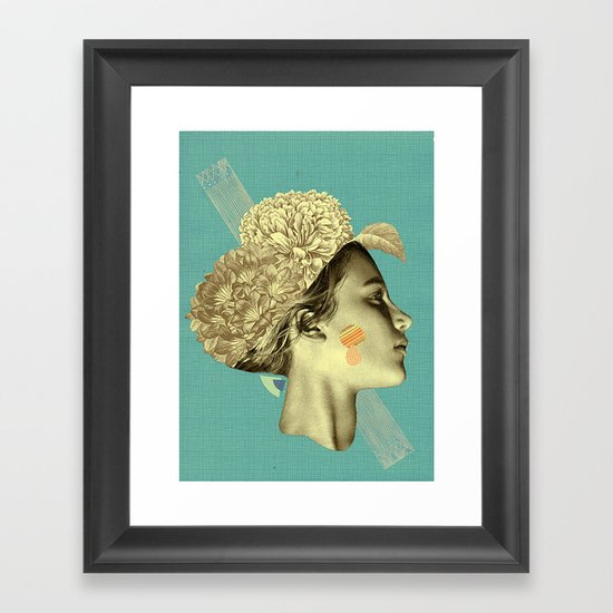 please don't leave me to remain Framed Art Print