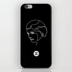 Mademoiselle Coco Silhouette -  iPhone & iPod Skin