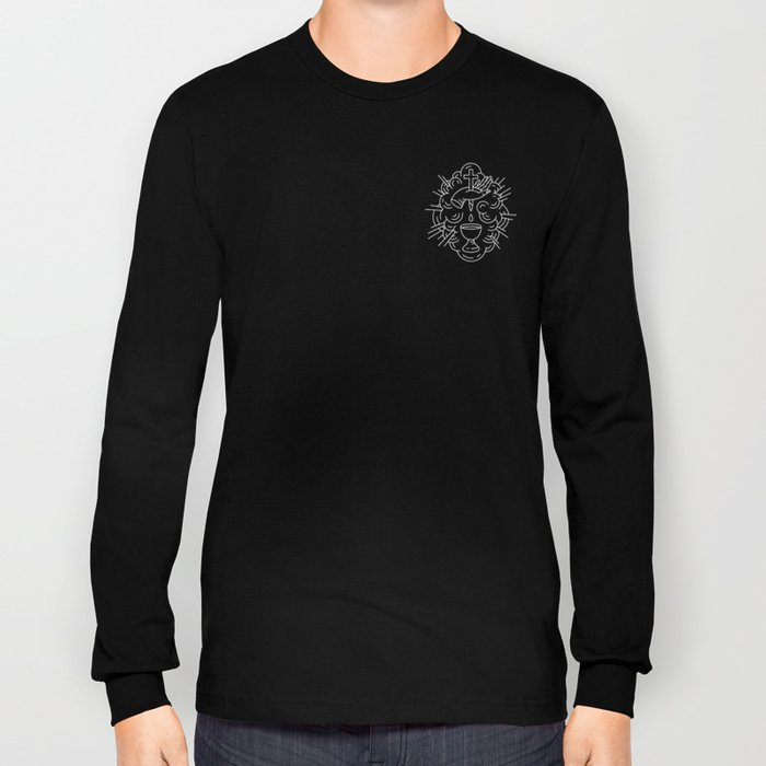 Communion Line Art Long Sleeve T-shirt