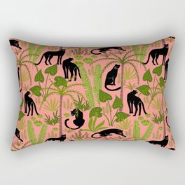 black panthers- pink Rectangular Pillow