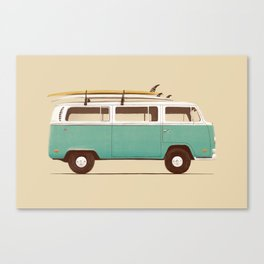 Van - Blue Canvas Print