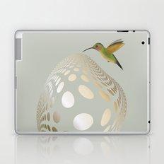 Hummingbird and Bubble Laptop & iPad Skin