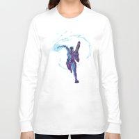 n7 Long Sleeve T-shirts featuring Mass Effect 3- Vanguard Propaganda by Joe Byrne