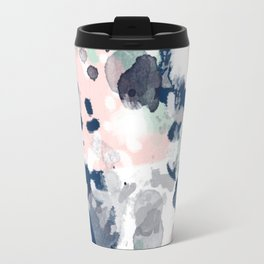Tate - abstract modern minimal painting art nursery baby office home decor minimalist modern nursery Travel Mug