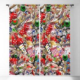 Gamblers Delight - Las Vegas Icons Blackout Curtain