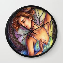 Shattered Dance Wall Clock