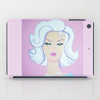 barbie iPad Cases featuring Frosty Barbie by Little Bunny Sunshine
