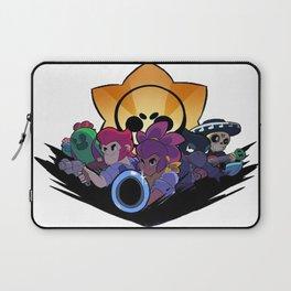 Spike, Colt, Shelly, Crow and Poco design   Brawl Stars Laptop Sleeve