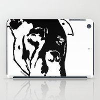 pitbull iPad Cases featuring COACH - BLACK by Kirk Scott
