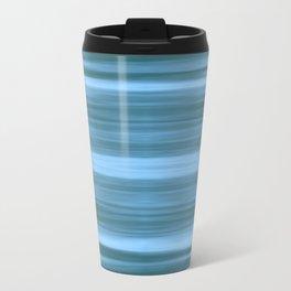 Abstraction Serenity in Ocean Travel Mug