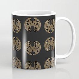 Odd order - Pattern of symmetric squeezed shapes Coffee Mug