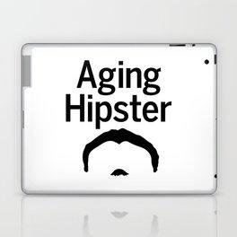Aging Hipster Laptop & iPad Skin