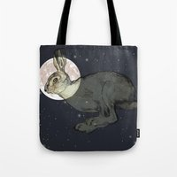 interstellar Tote Bags featuring Interstellar by Shany Atzmon