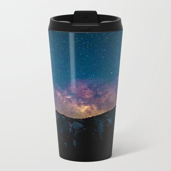 Galaxy Mountain Metal Travel Mug
