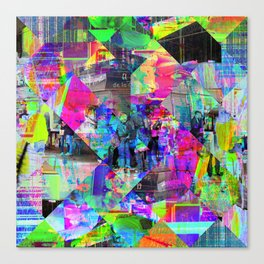 For when the segmentation resounds, abundantly. 02 Canvas Print