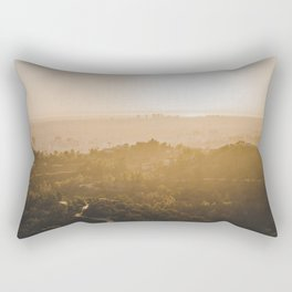 Golden Hour - Los Angeles, California Rectangular Pillow