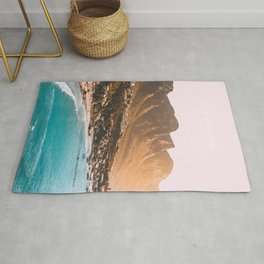 Cape Town, South Africa Travel Artwork Rug