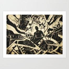 Multiverse Art Print