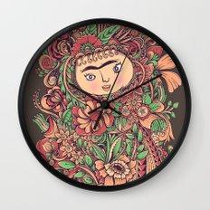 Chloris Wall Clock