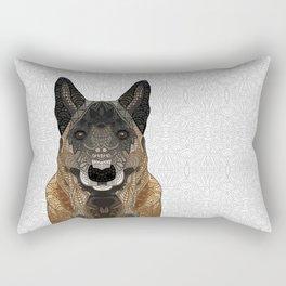 Malinois - Belgian Shepherd Rectangular Pillow