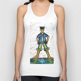Paper Boater Unisex Tank Top