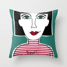 French Throw Pillow