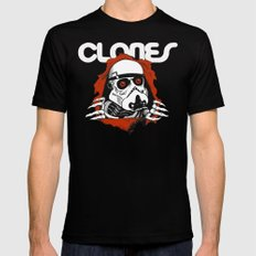 Clones Brigade LARGE Black Mens Fitted Tee