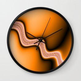 hot Stream Wall Clock