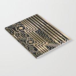 Art Nouveau Metallic design Notebook