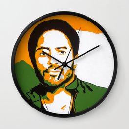 Lenny Kravitz Wall Clock