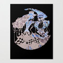 Harlequin Series 1 Canvas Print