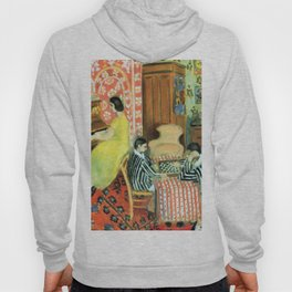 Henri Matisse Pianist and Checker Players Hoody