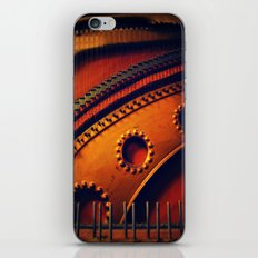 piano skeleton iPhone & iPod Skin