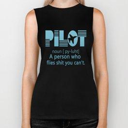PILOT Biker Tank