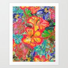 My Tropical Garden 6 Art Print