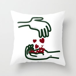 Give Some Throw Pillow