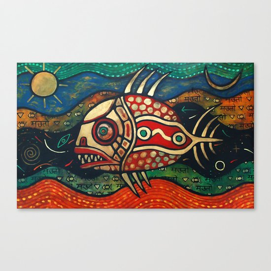 The Fish Canvas Print