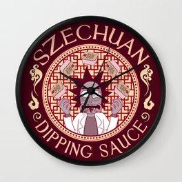 Szechaun Dipping Sauce Wall Clock