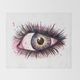 cosmic eye 2 Throw Blanket