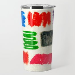 Dribble Scribble Travel Mug