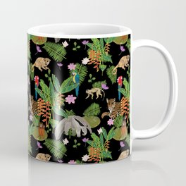 Animals of the Amazon jungle print Coffee Mug