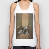 downton abbey Tank Tops featuring Abbey by Ambre Wallitsch