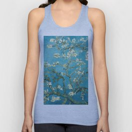 Almond Blossoms by Vincent van Gogh Unisex Tank Top