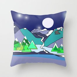Wanderlust 3 Throw Pillow
