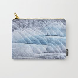 Light steel blue clouded wash drawing Carry-All Pouch