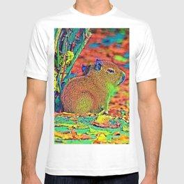 AnimalColor_Capybara_001_by_JAMColors T-shirt