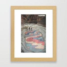Reflecting Pool Framed Art Print